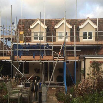 Roofing Scaffolding Essex Hertfordshire