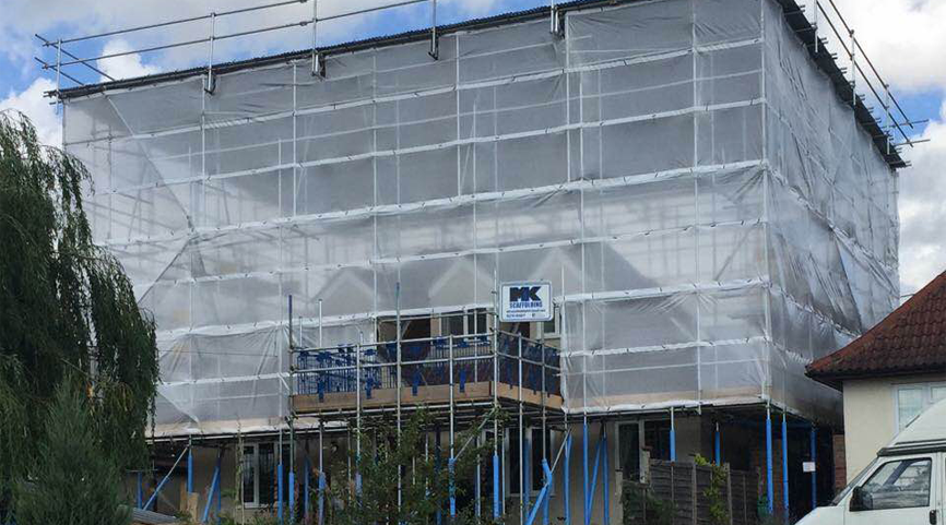 Roof Scaffolding Products : Temporary roof systems mk scaffolding