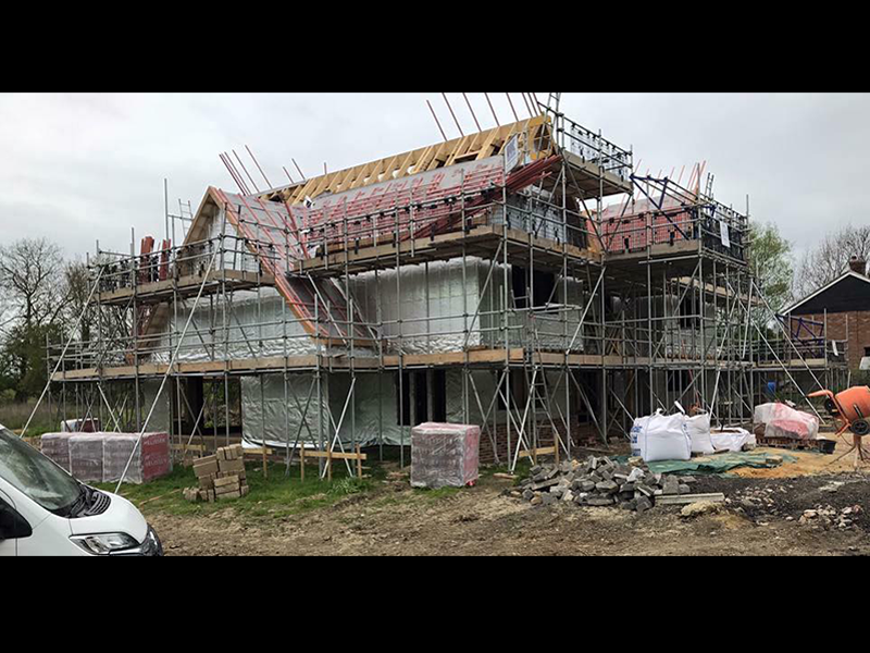 Timber Frame Scaffolding