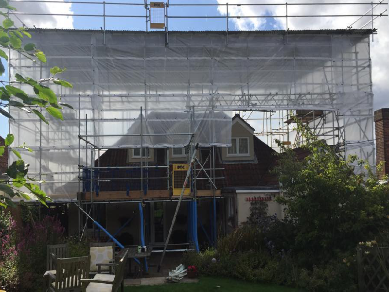 Temporary Roof Systems Mk1 Scaffolding